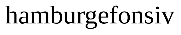 Liberation serif regular roman example